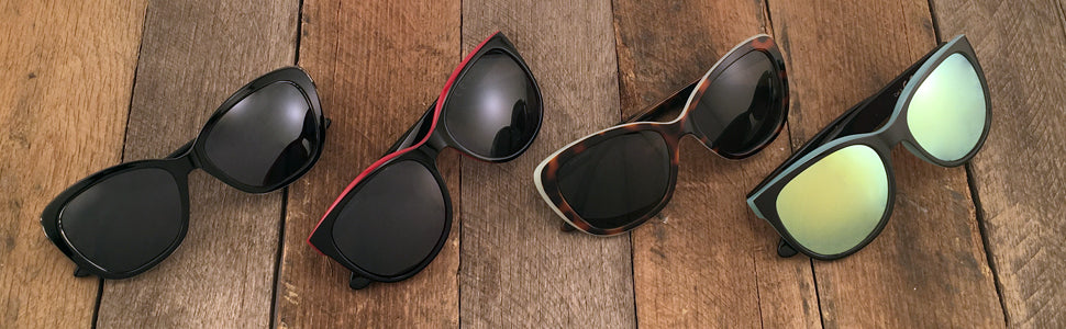 Oval Sunglasses Banner