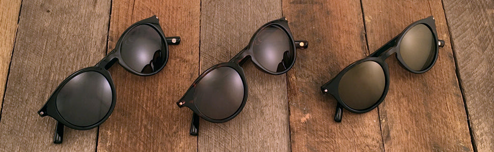 Retro Round Sunglasses Banner