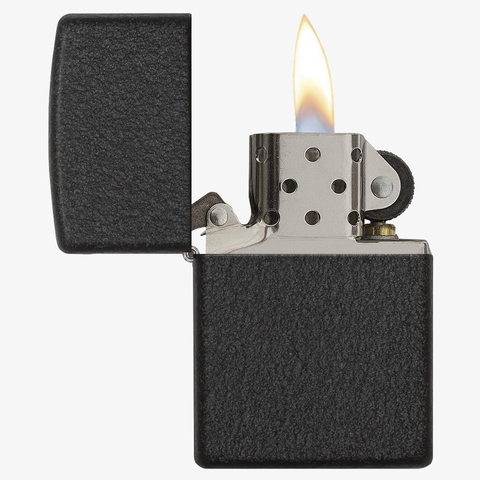 Black Crackle Lighter