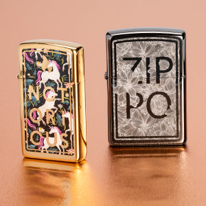 Zippo Floral Lighters