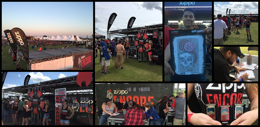 Rocklahoma Collage