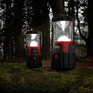 Size comparison of lanterns