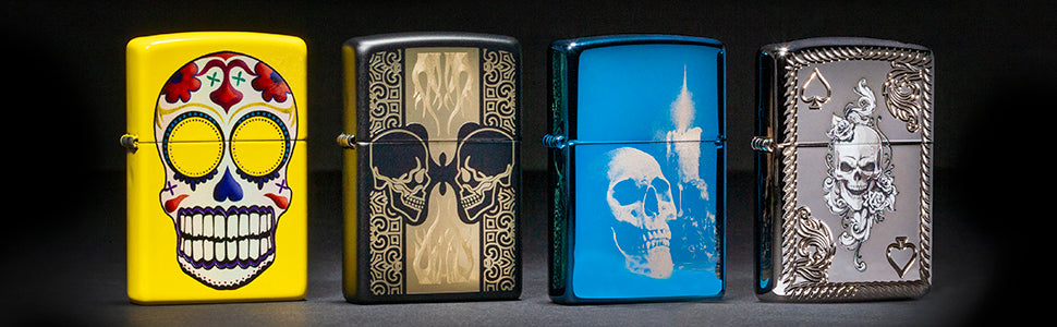 Skull Lighters