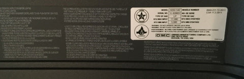 Locate Serial Number On Back Of Windproof Stove™