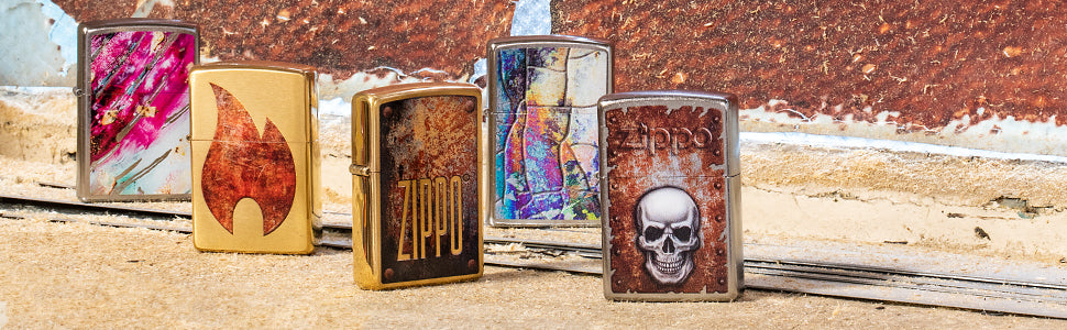 Rust Patina Lighters