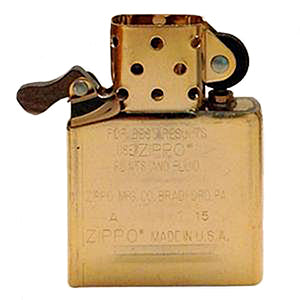 Zippo Windproof Lighter Brass Insert