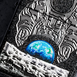 Zippo Moon Landing Collectible Color Imaging