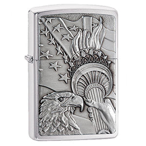 Zippo Windproof Eagle Lighter with Emblem