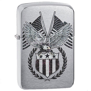 Zippo Windproof Color imaged Eagle lighter