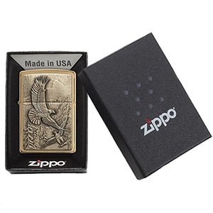 Zippo Windproof Eagle Lighter Packaging
