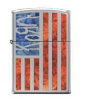 Korn Special Edition American Flag Tour Lighter