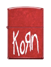 Korn Special Edition Red Tour Lighter