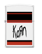 Korn White Logo Lighter