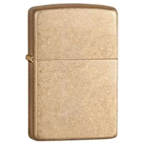 Tumbled Brass Lighter