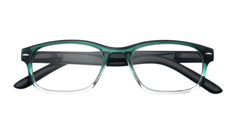 '+2.00 Power Turquoise Gradient Readers