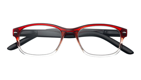 +3.00 Power Red Washed Readers