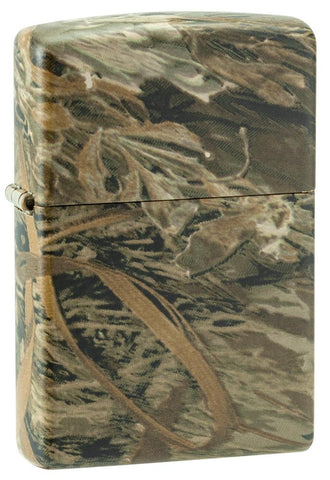 Front of Authentic Zippo Lighter - Realtree Pattern