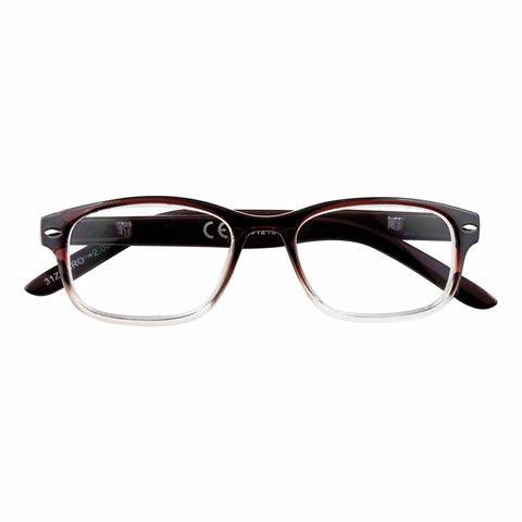 '+2.00 Power Brown Classic Readers