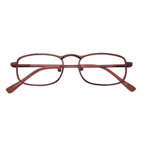 +1.50 Power Burgundy Slender Readers