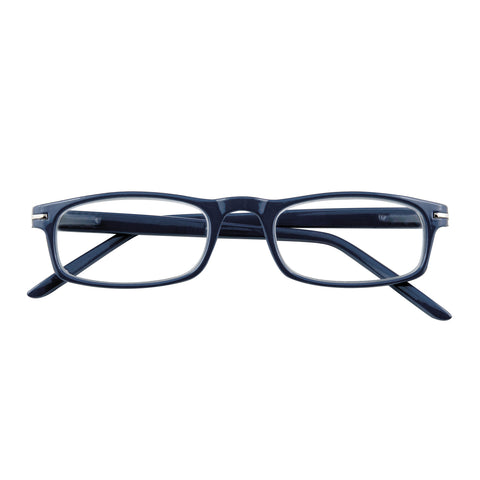 '+3.50 Power Slender Navy Rectangular Readers