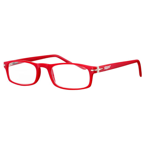 '+3.50 Power Red Readers with Silver Accents