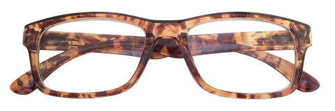 +3.00 Power Brown Patterned Readers