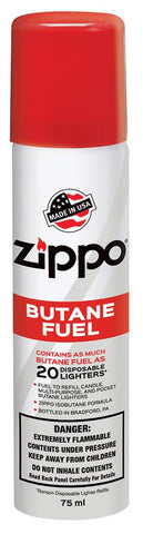 Image of the front of Zippo Butane Fuel, 1.48 Oz.