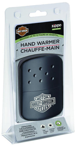 Harley-Davidson Black Hand Warmer in Packaging