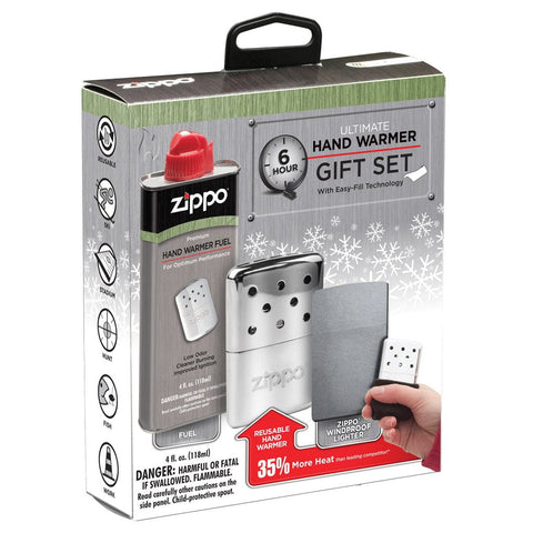 6 hour hand warmer gift set boxed