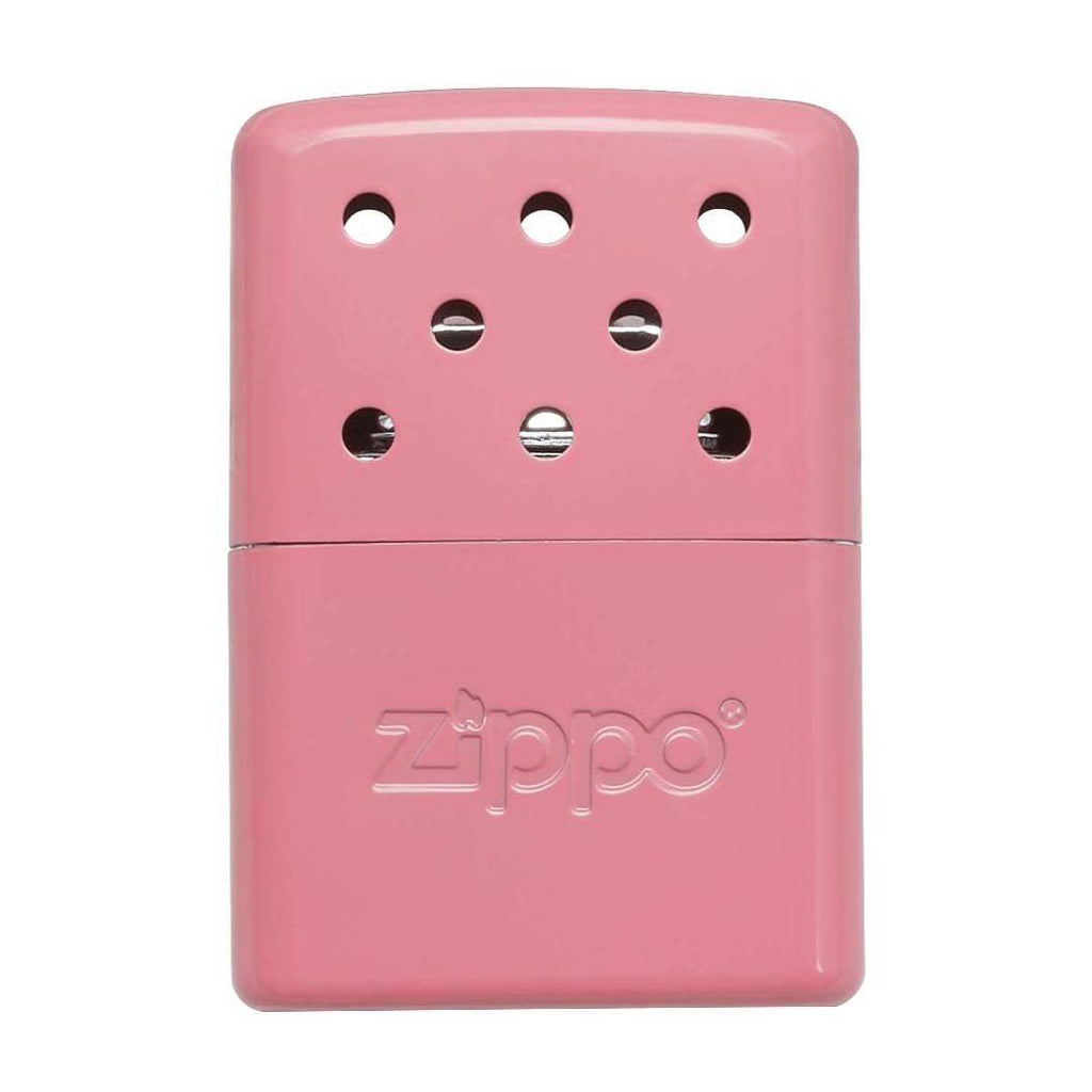 Front of Pink 6-Hour Refillable Hand Warmer
