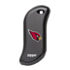 Front of black NFL Arizona Cardinals: HeatBank 9s Rechargeable Hand Warmer