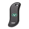 Front of black NFL New York Jets: HeatBank 9s Rechargeable Hand Warmer