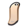 Front of Champagne HeatBank 9s Rechargeable Hand Warmer
