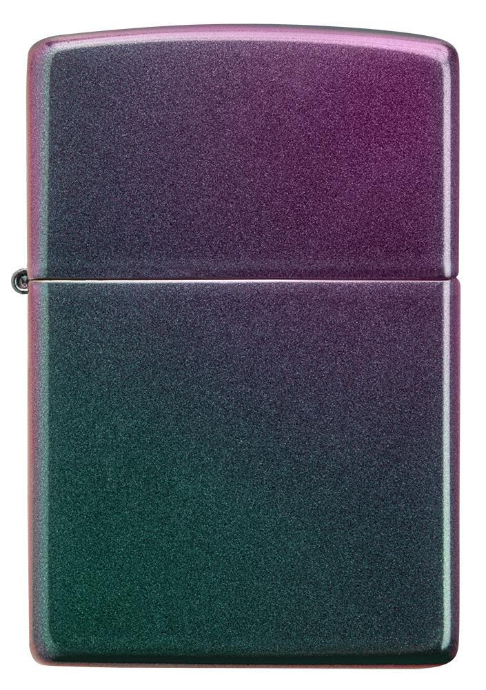 Front of Iridescent windproof lighter