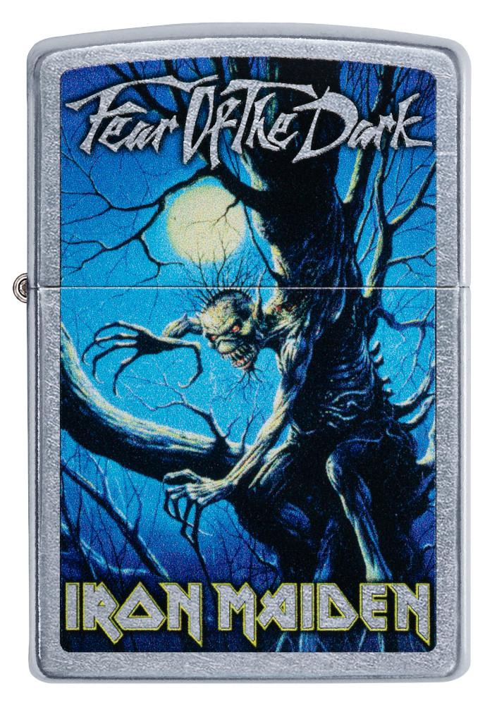 Front of Iron Maiden Fear of the Dark Windproof Lighter