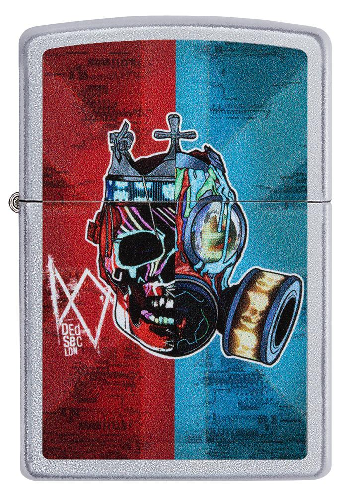 Front of Watch Dogs: Legion DedSec Windproof Lighter