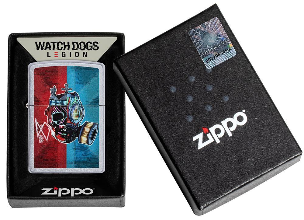 Watch Dogs: Legion DedSec Windproof Lighter in its packaging