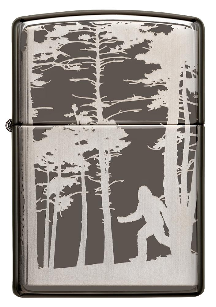 Front of Squatchin' In The Woods 360° Design Windproof Lighter
