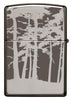 Back of Squatchin' In The Woods 360° Design Windproof Lighter
