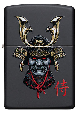 Front of Samurai Helmet Design Windproof Lighter