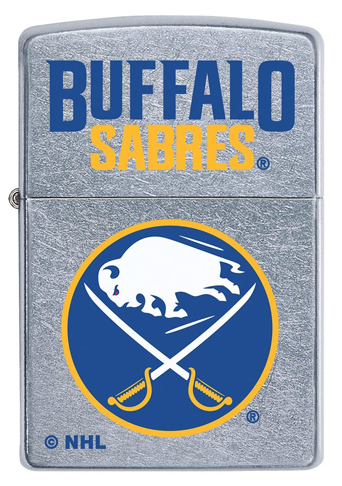 Front of ©NHL Buffalo Sabres Street Chrome™ Windproof Lighter