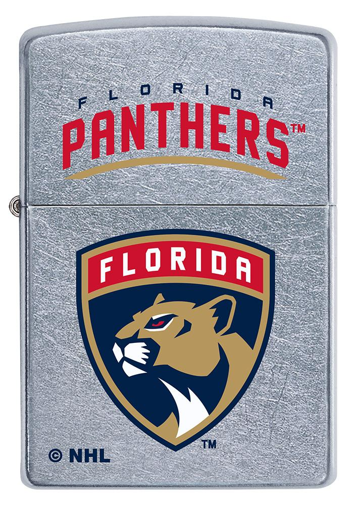 Front of ©NHL Florida Panthers Street Chrome™ Windproof Lighter