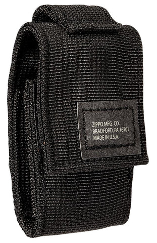 3/4 shot of Black Tactical Pouch