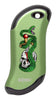 Front of Skull, Snake, & Dagger: Green HeatBank® 9s Rechargeable Hand Warmer