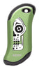 Front of Sugar Skull: Green HeatBank® 9s Rechargeable Hand Warmer