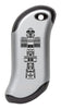 Front of Totem Pole: Silver HeatBank® 9s Rechargeable Hand Warmer