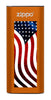 Orange American Flag: HeatBank® 3-Hour Rechargeable Hand Warmer