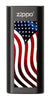 Black American Flag: HeatBank® 3-Hour Rechargeable Hand Warmer