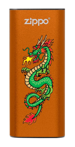 Front of Chinese Dragon: Orange HeatBank® 3-Hour Rechargeable Hand Warmer