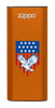 Front of Eagle and American Flag: Orange HeatBank® 3-Hour Rechargeable Hand Warmer